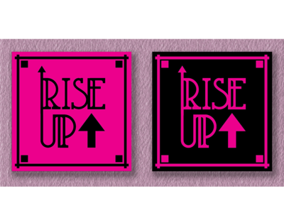 Rise Up Logo Mat