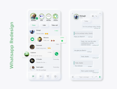 whatsapp Redesign challenge