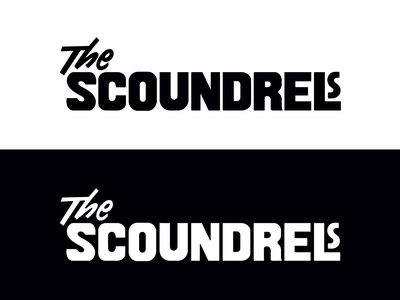 The Scoundrels logo
