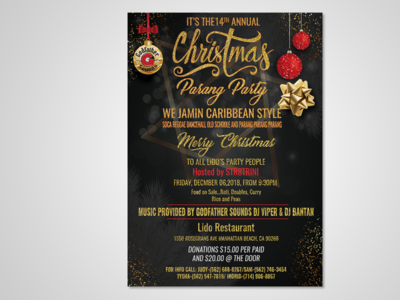 Awesome Christmas Party Flyer