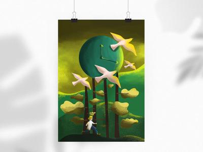 'Time' Illustration