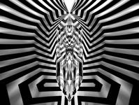 """""""Qubit""""  (256 Megapixels)"""