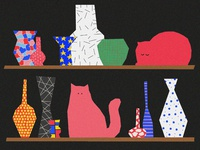 Fat cats and pottery