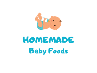 Homemade baby food logo vector design illustration illustrator branding logo