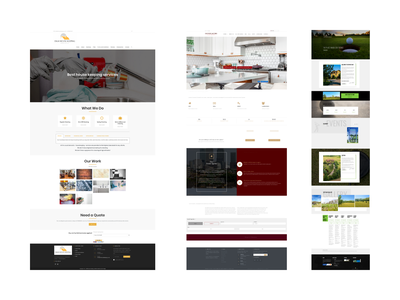 WEB DESIGN via WordPress website typography web branding illustration design