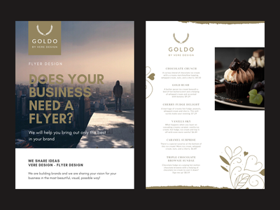Flyer Design and Menu Design print design flyer flyer artwork flyer design menu menu bar menu design illustrator typography branding design
