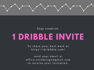 Stay creative illustrator animation branding web illustration design dribble community invite invitation dribble invite