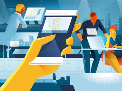 What the workforce of the future expects from HR Videos workforce technology illustration