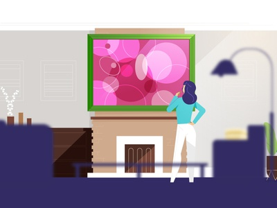 Bad Wall Art explainer illustration characters animation explainer video
