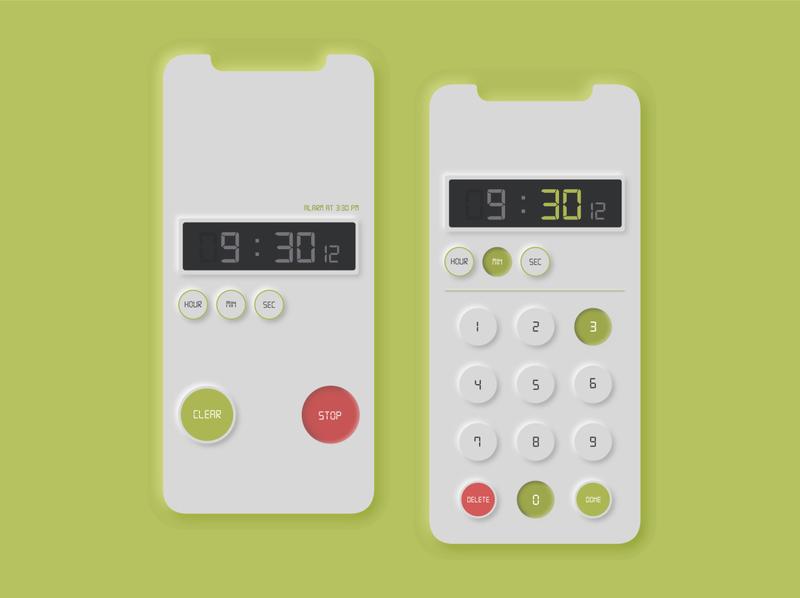 Daily UI 008 Countdown Timer app ui uichallenge design dailyui