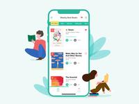 Dailu UI 011_ Leaderboard bookapp leaderboard app ui uichallenge design dailyui