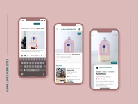 Daily UI 013 : Blog Post for social uidesign appdesign ui app uichallenge design dailyui
