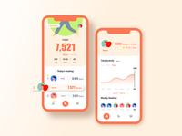 Daily UI 014 : Workingout Tracker appdesign app uichallenge ui design dailyui