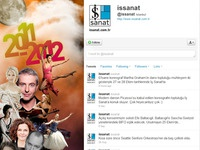 Is Sanat Twitter Skin 2012 - half page