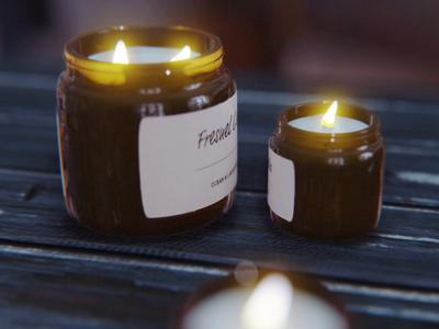 Candles dof lighting 3dmodeling flame light candle candles render blender 3d