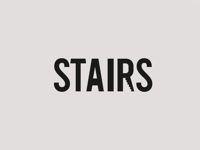 Stairs Logo Concept