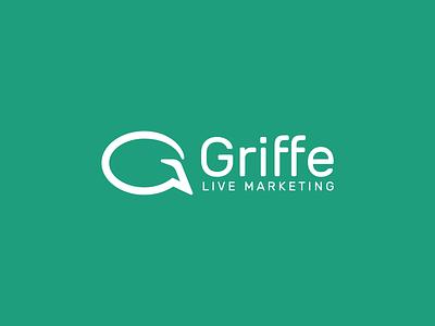 Griffe logo marketing agency communication promo branding design branding brand brand identity logodesign logotype logo