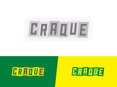 Craque logo player game gameboard quiz soccer logodesign logotype logo