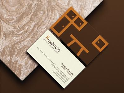 Auxêncio furniture chair wood branding brand identity logotype logo