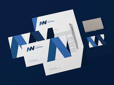 Nayn Neto news journalist blogger branding brand brand identity logotype logo