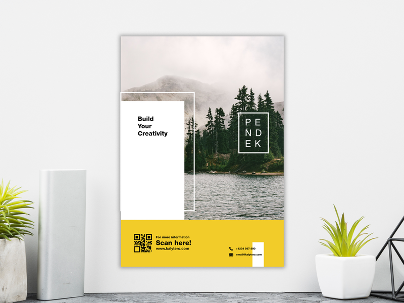 Pendek Brochure profil leaflet marketing poster banner annual report magazine presentation background corporate vector abstract layout booklet design template flyer brochure cover business