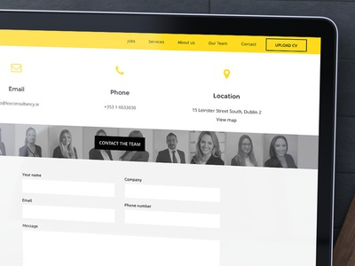 Lex - Recruitment Contact Page