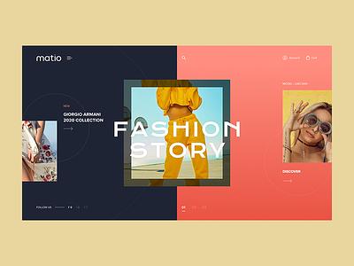 Matio Fashion ecommerce fashion brand fashion