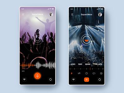 Social Music App artist video music app