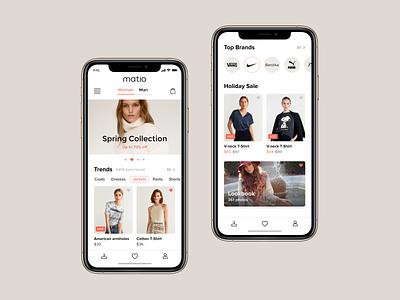 Matio app fashion ecommerce
