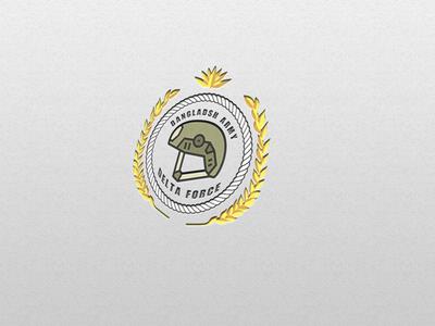 Military Regiment Logo Concept - Delta Force
