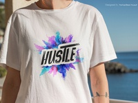 Hustle T-Shirt Design