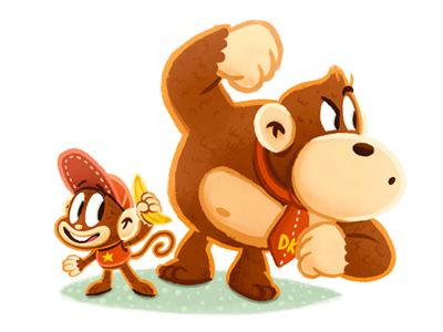 Donkey & Diddy Kong