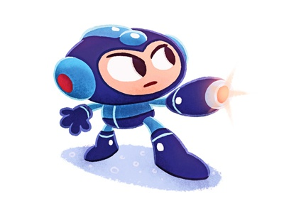 Megaman megaman videogame nintendo illustration