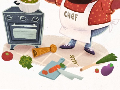 Chef chef illustration