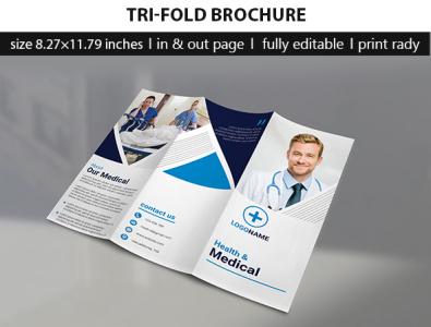 Tri-fold brochure graphics design flyer design flyer template tri-fold brochure brochure template trifold brochure brochure design flyer design