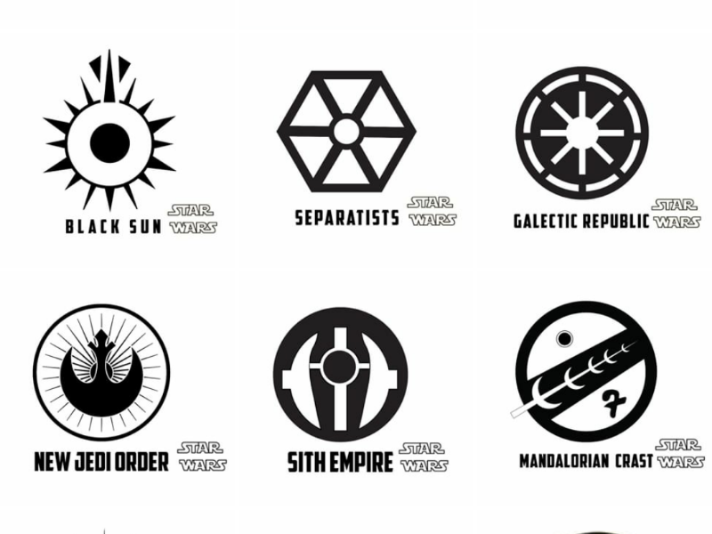Star Wars Logo By Logogarbage On Dribbble