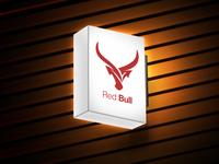 Red Bull Mockup