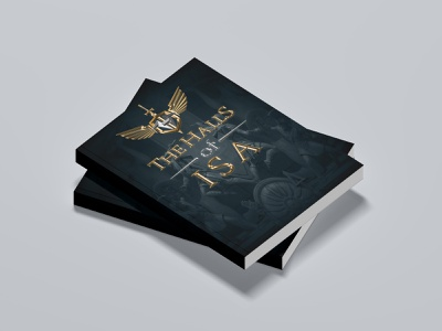 The Halls of ISA 3 book cover illustration book cover template ebook cover design ebook design ebook cover cover design cover art book cover design book cover art book covers book cover