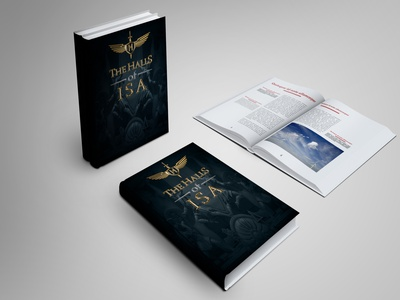 The Halls of ISA 1 book illustration cover artwork cover design cover art book cover mockup book cover design book cover art book covers book design book art book cover