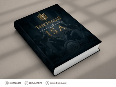 The Halls of ISA cover design cover art covers cover ebook cover design ebook template ebook layout ebook design ebook cover ebooks book cover mockup book cover art book illustration book cover design book covers book design book art booklet book book cover