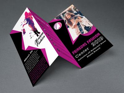 Tri Fold Fachion Brochure