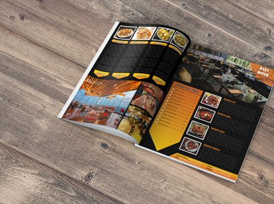 Restaurant Brochure
