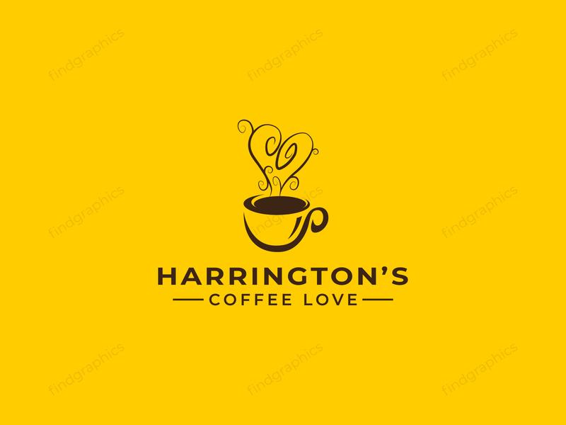 coffee shop logo design - restaurant logo design - cafe logo chef coffee logo logos shop cafe logo restaurant coffee logo findgraphics morden modern wordmark logotype logo design logo agency logo a day fold branding brand identity abstract