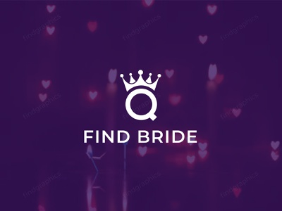 Find bride company logo design - queen crown logo - bridal logo mordern modern crown bridal bride queen logo challenge logo a day logo design concept logomark company logo logo design logos logo vector design illustration branding brand identity abstract