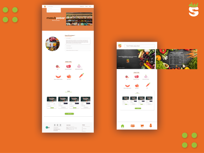 Desktop And Mobile View animation design web ui illustration