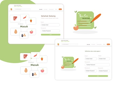 New Design masukpasar.id ui icon flat web design