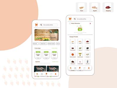 masukpasar.id ver-3 web app ui flat design