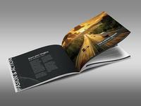 Horizontal Business Design Brochure