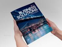 Business Solution Template Brochure