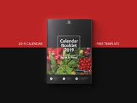 Free Template Calendar 2019